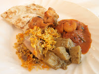 Sunday tiffin curry - Raffles Hotel