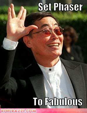 george takei set phaser to fabuous the flaming nose happy birthday to the legendary george takei!