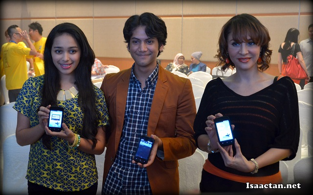 Some of the local celebrities endorsing the new Switch Star Neo Mi363