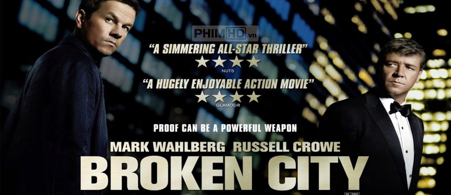 Phim Thành Phố Tội Ác VietSub HD | Broken City 2013