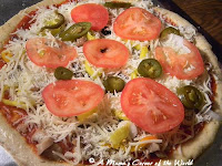 Meatless Monday:  Veggie Pizza Recipe Idea