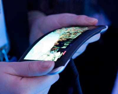 Nokia Show off a Flexible smartphone