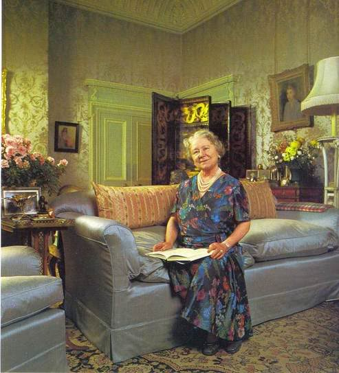 Queen Mother Clarence House Interiors
