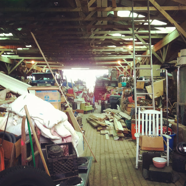 barn full of industrial factory cleanout goods, vintage and antique finds, in connecticut