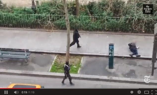 VIDEO : Pelaku Penembakan di Paris Mengaku terkait Al-Qaeda