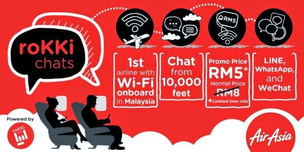 AirAsia now has in-flight WiFi service! - TheHive.Asia