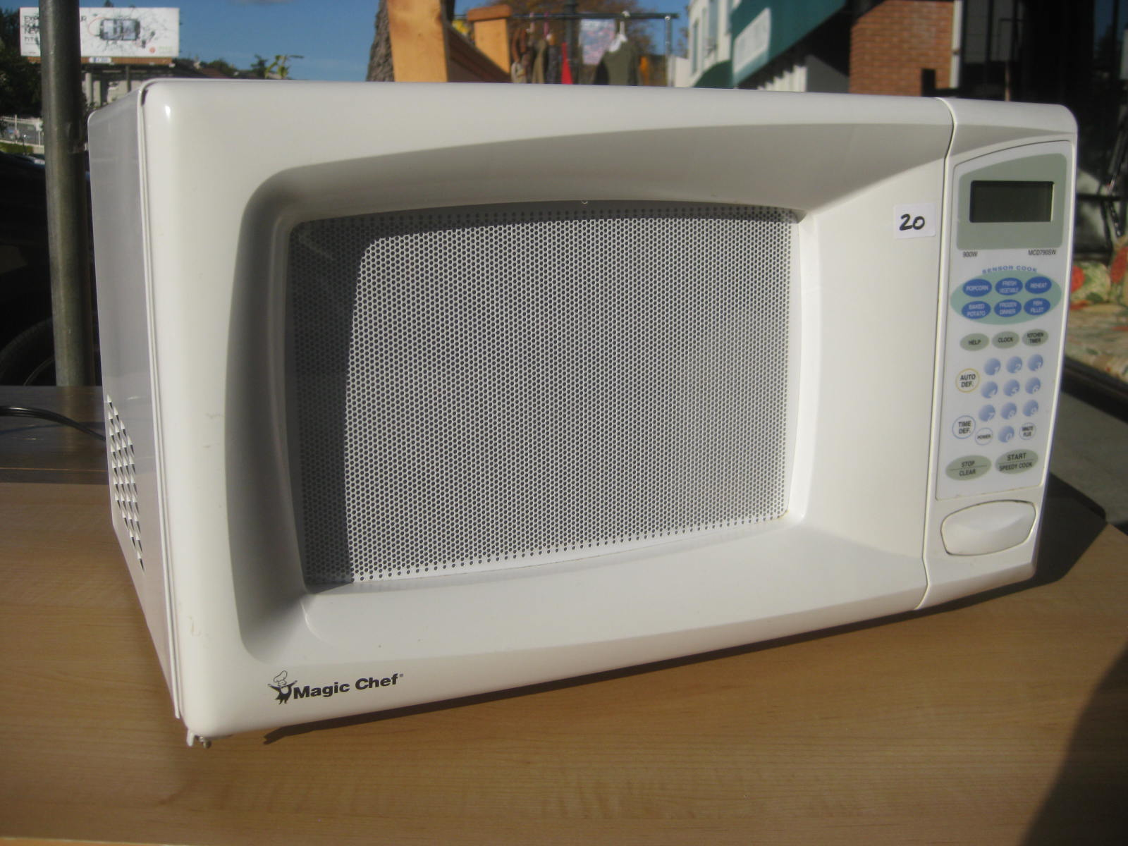 Sold Magic Chef Microwave 20