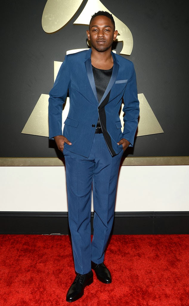 Kendrick lamar at the 2014 grammys