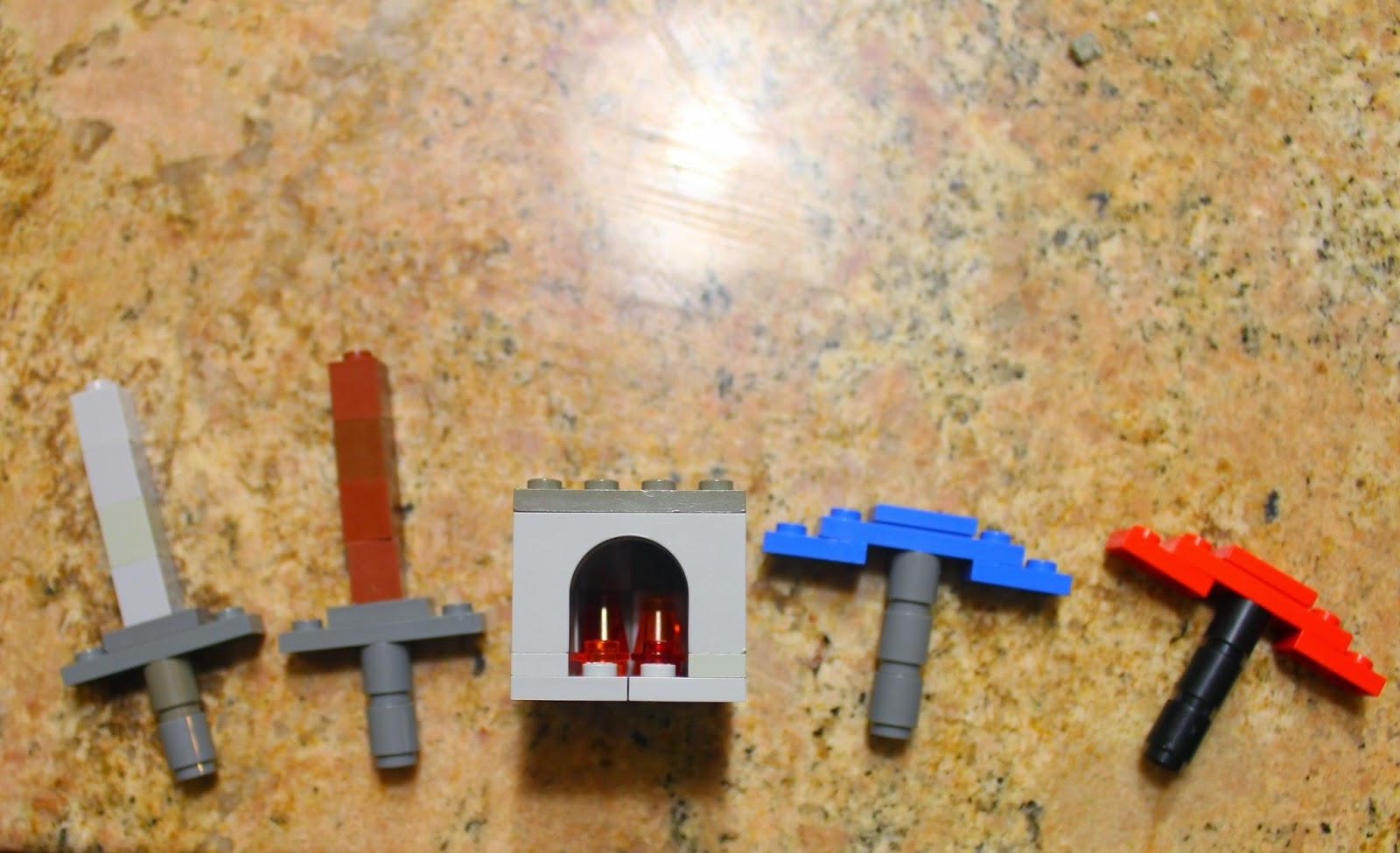 LEGO Minecraft Advent Calendar Pieces