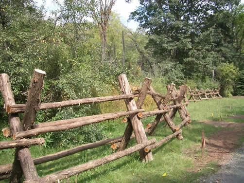 Rusticwork rustic fencing for Old wooden fence ideas