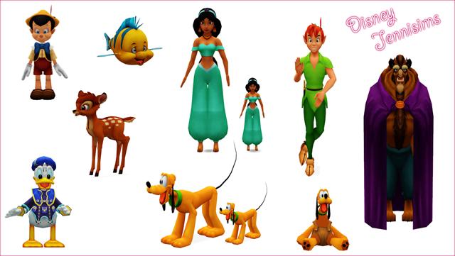 My Sims 3 Blog Disney Decor By Jennisims