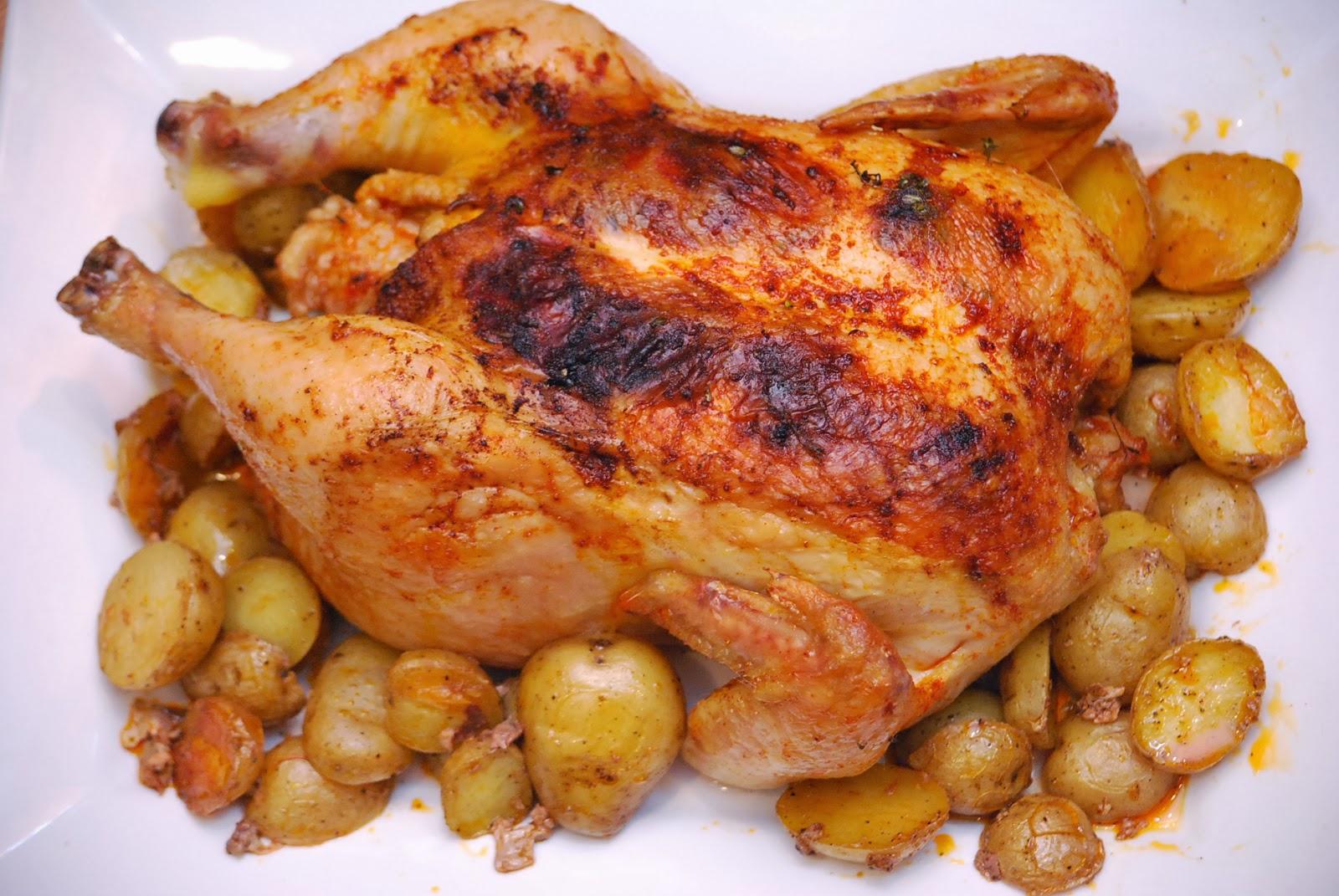 Курица в аджике в духовке рецепт