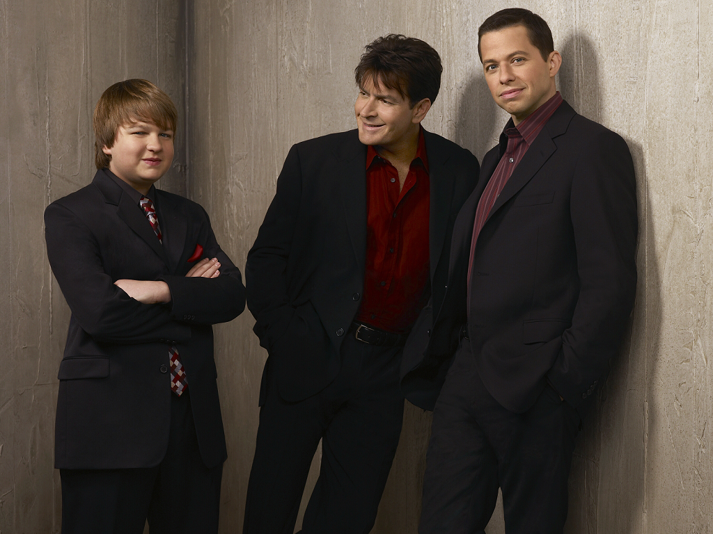 Wallpapers de séries: WALLPAPERS TWO AND A HALF MEN