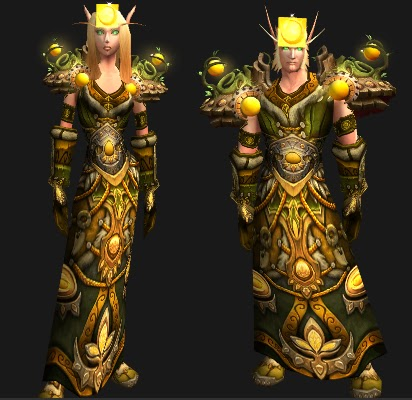 Plate Armor Wow Yellow Plate Armor Transmog