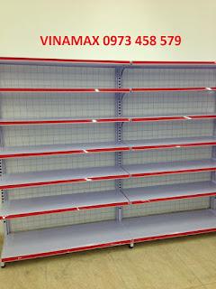 giá kệ siêu thị mới của VINAMAX