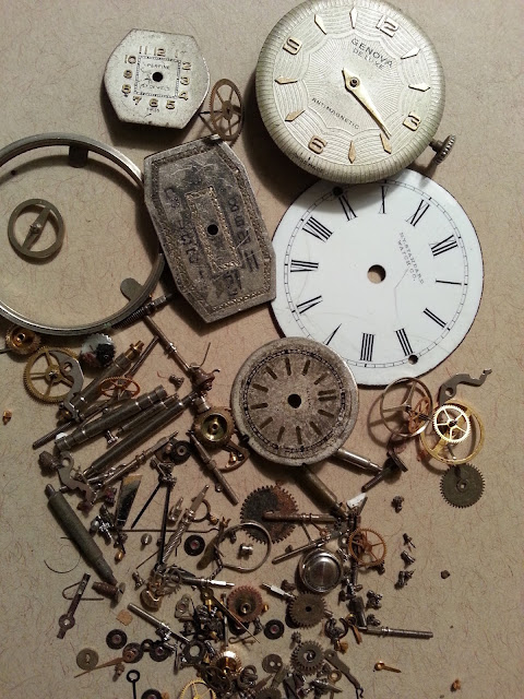Antique Watch Parts