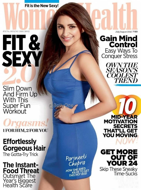 Actress @ Parineeti Chopra - Women'S Health Magazine July 2015