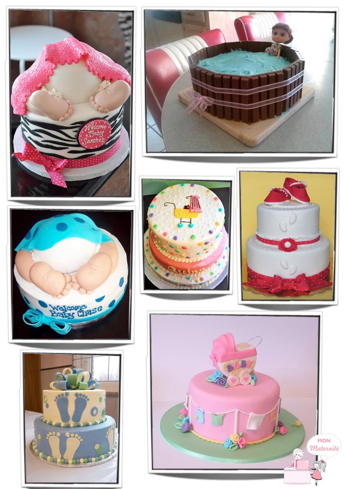 ideias de bolo para chá de bebê mon maternité