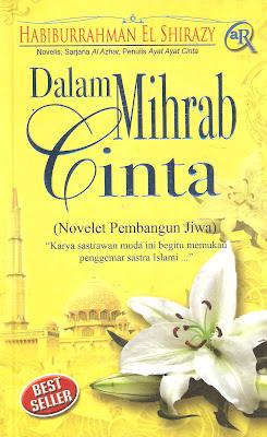 dalam mihrab cinta,novel,islami,islam,kang abik
