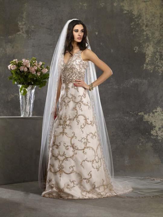 Most beautiful wedding dresses 2012 bridal wears for Beautiful and elegant wedding dresses