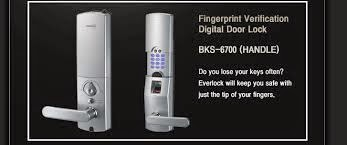 BKS-6700 Handle - Fingerprint Verification