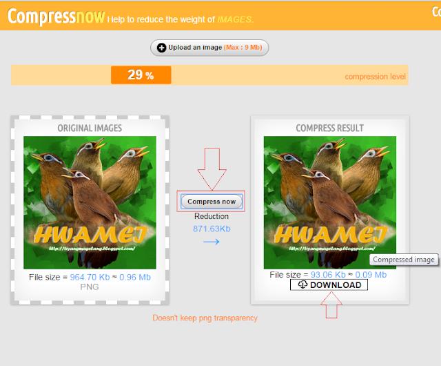 Cara kompres gambar online tanpa merusak kualitas