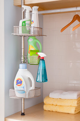 And this is a great idea! I have one of those laundry rooms that
