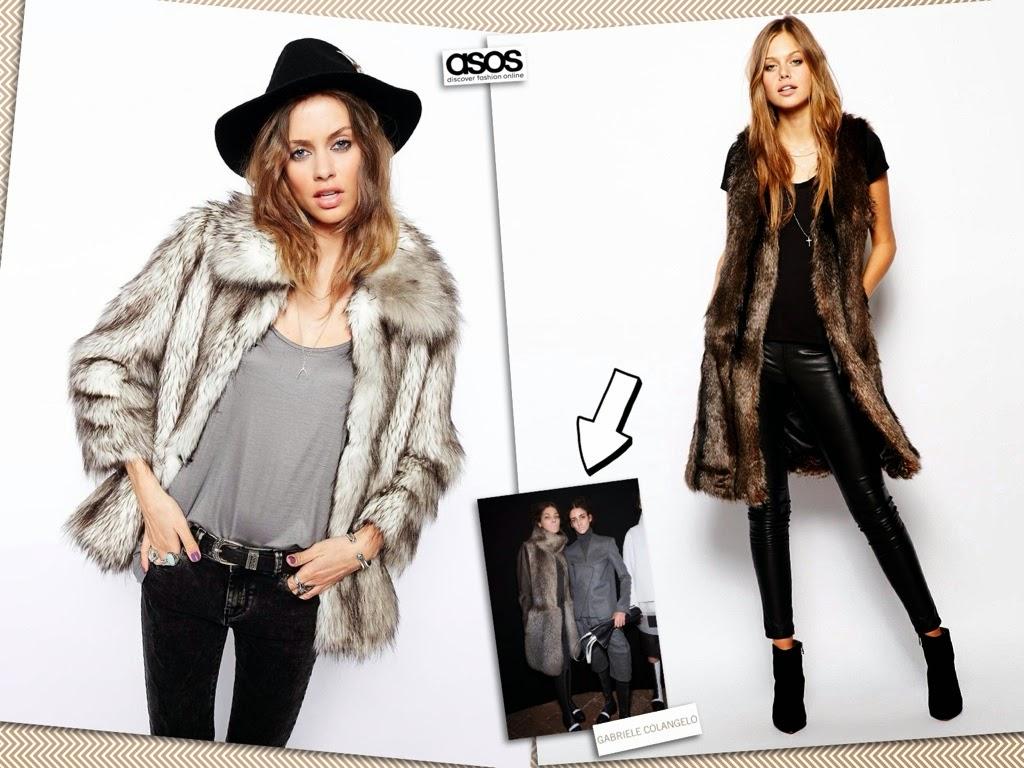 vestirsi inverno, pellicce economiche, pellicce ecologiche, asos