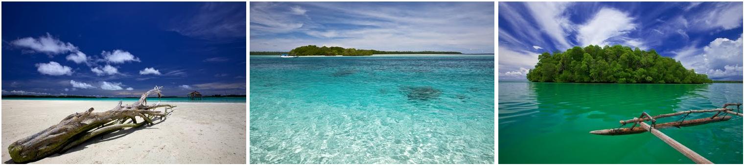Wisata di Indonesia: Kepulauan Widi - Wisata Halmahera Selatan