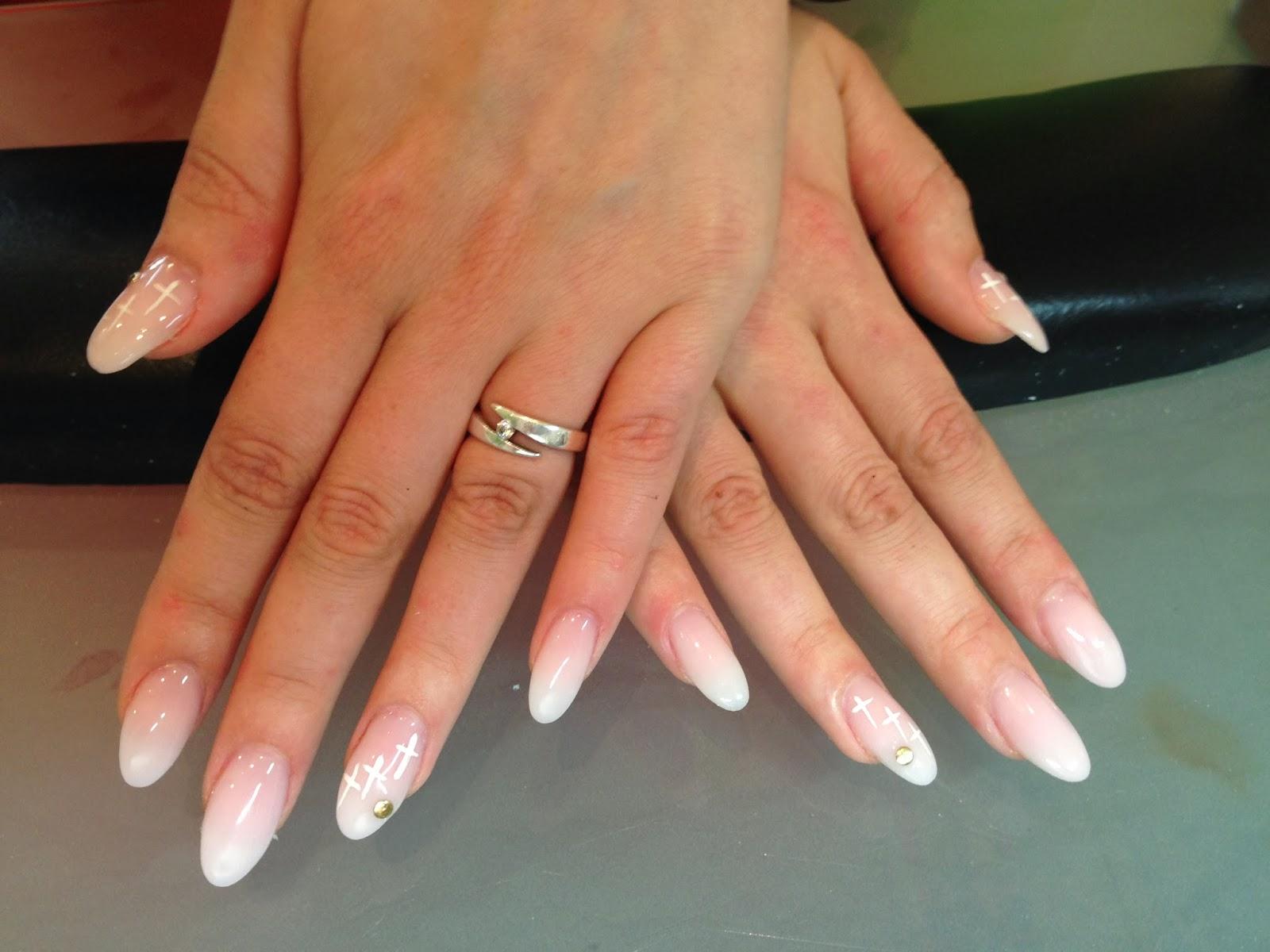 Дизайн овальных ногтей гелем фото