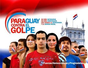 Todo apoio ao povo, e aos movimentos sociais e progressitas do Paraguai, contra a deposição de Lugo