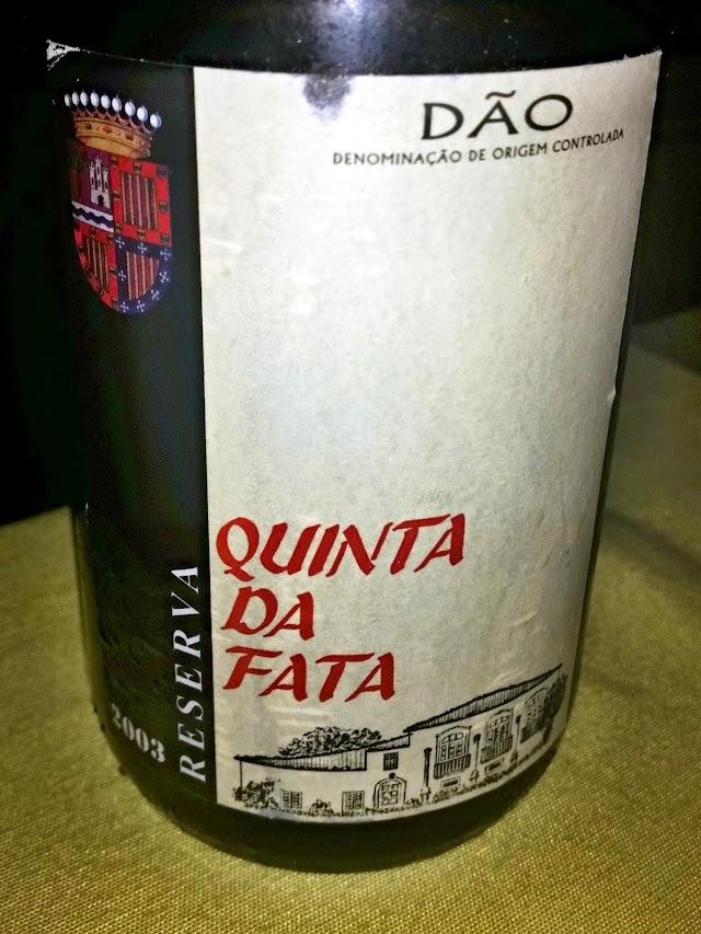 Quinta da Fata Reserva 2003 - reservarecomendada.blogspot.pt