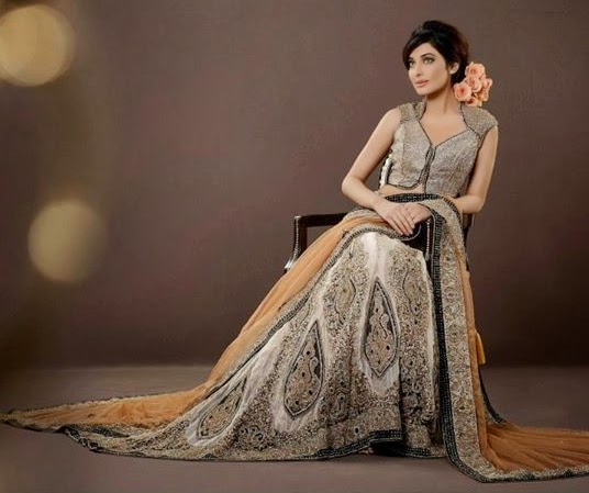 Sonia Azhar Fall 2014 Bridal Collection