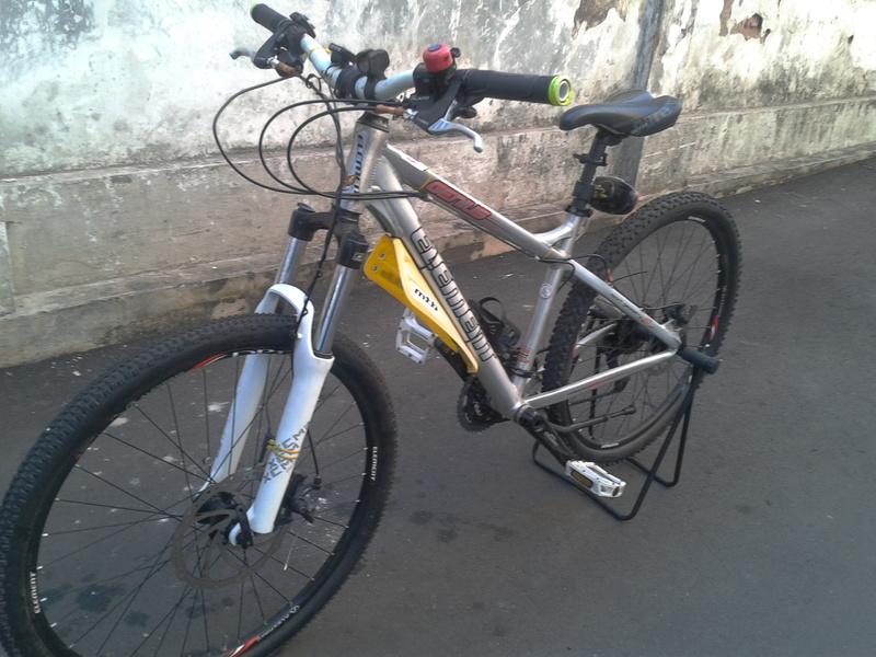 "Jual Sepeda Gunung MTB ELEMENT GENIUS 26"" (frame size 17"