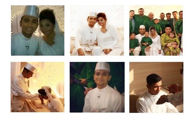10 Gambar Perkahwinan Taufik Batisah - Sheena Akbal