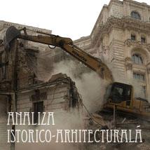 Analiza istorico arhitecturală