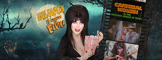 Elvira hosts Cannibal Women In The Avocado Jungle of Death at Huluween