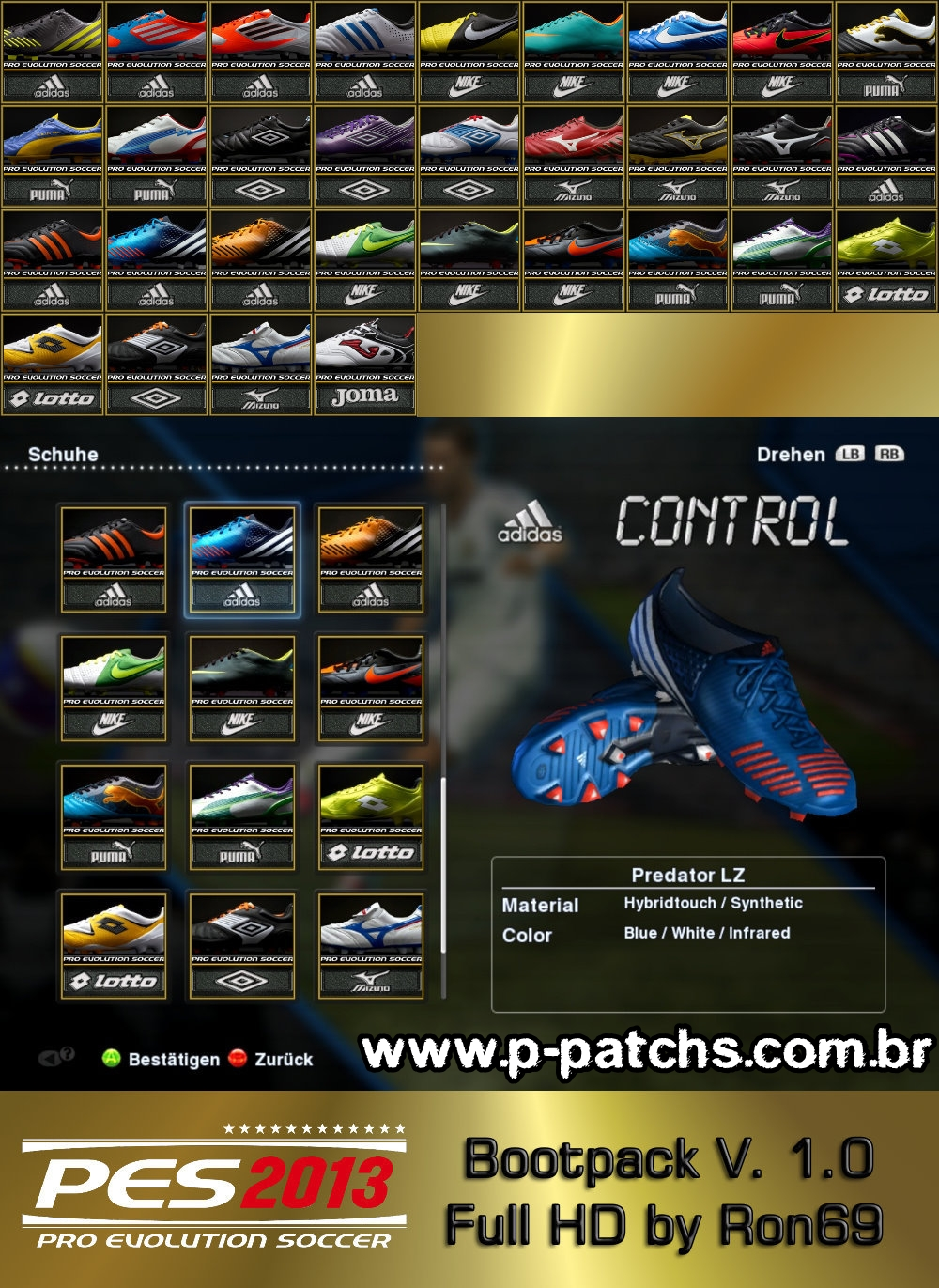 Bootpack v1.0 Full HD - PES 2013