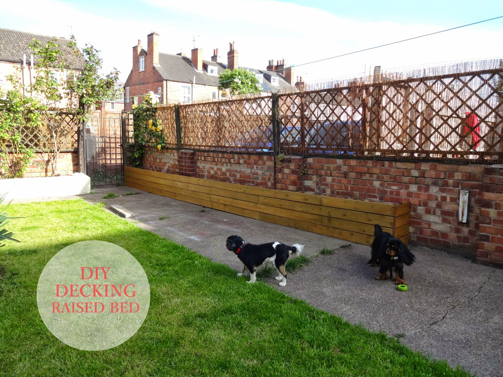 Uk home renovation interiors and diy blog for Decking at end of garden