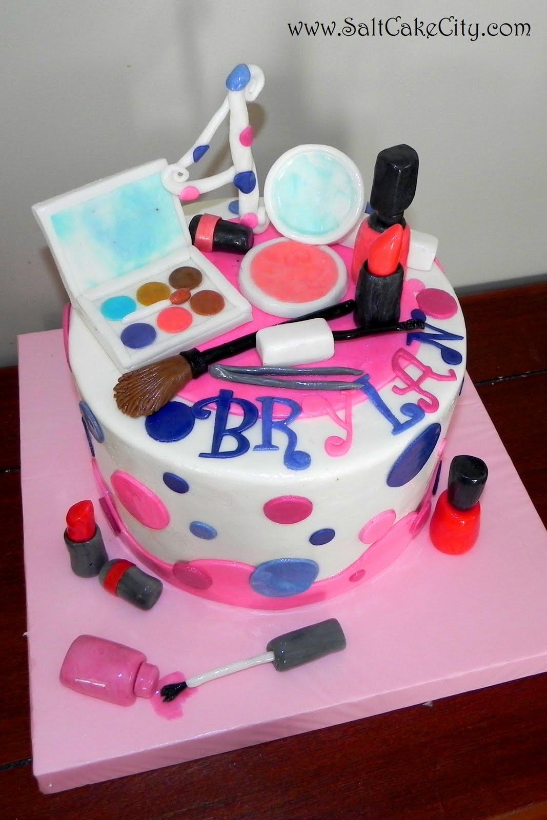 Let Them Eat Cake: Make up cake