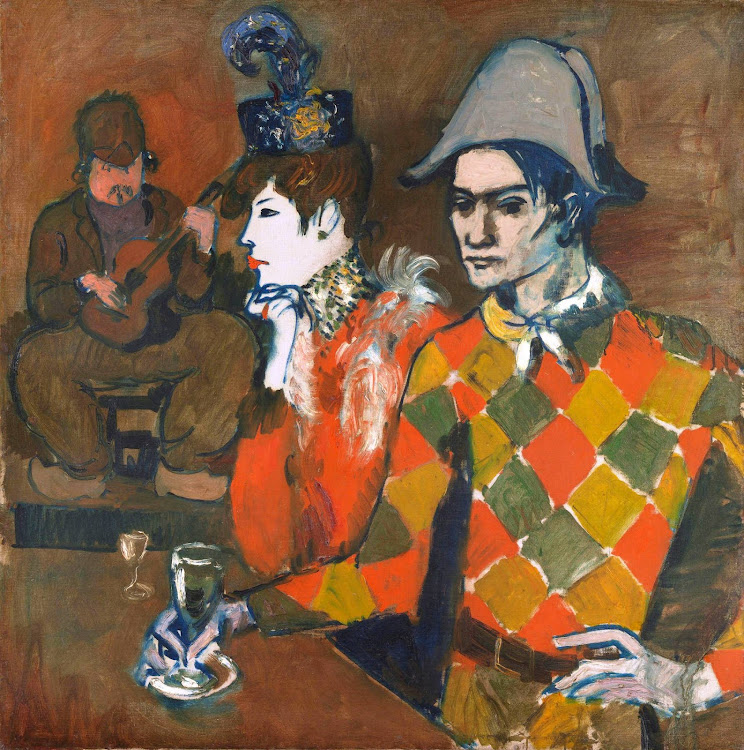 Pablo Picasso - At the Lapin Agile 1905