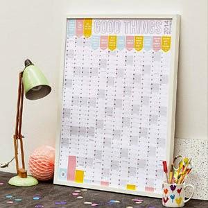 Ma Bicyclette - Buy Handmade - Calendars & Diaries - Good Things Planner