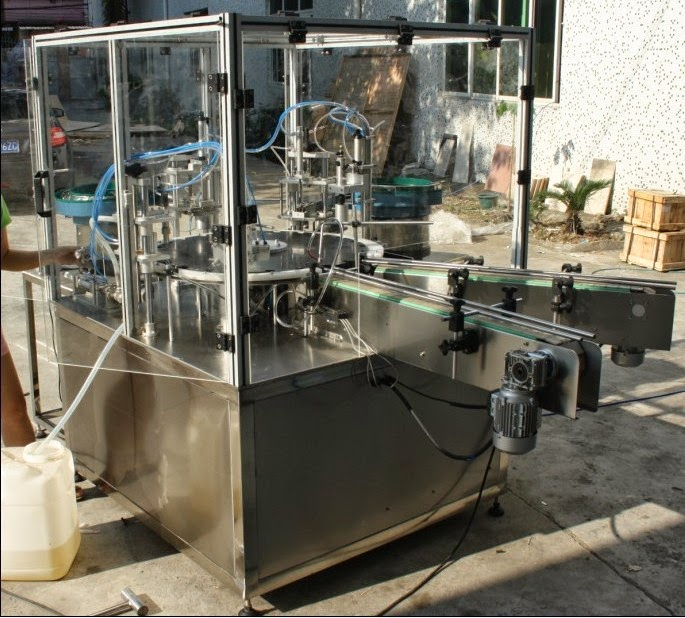 automatic rotary filling capping machine for shampoo packing automatic filler&capper for cosmetics