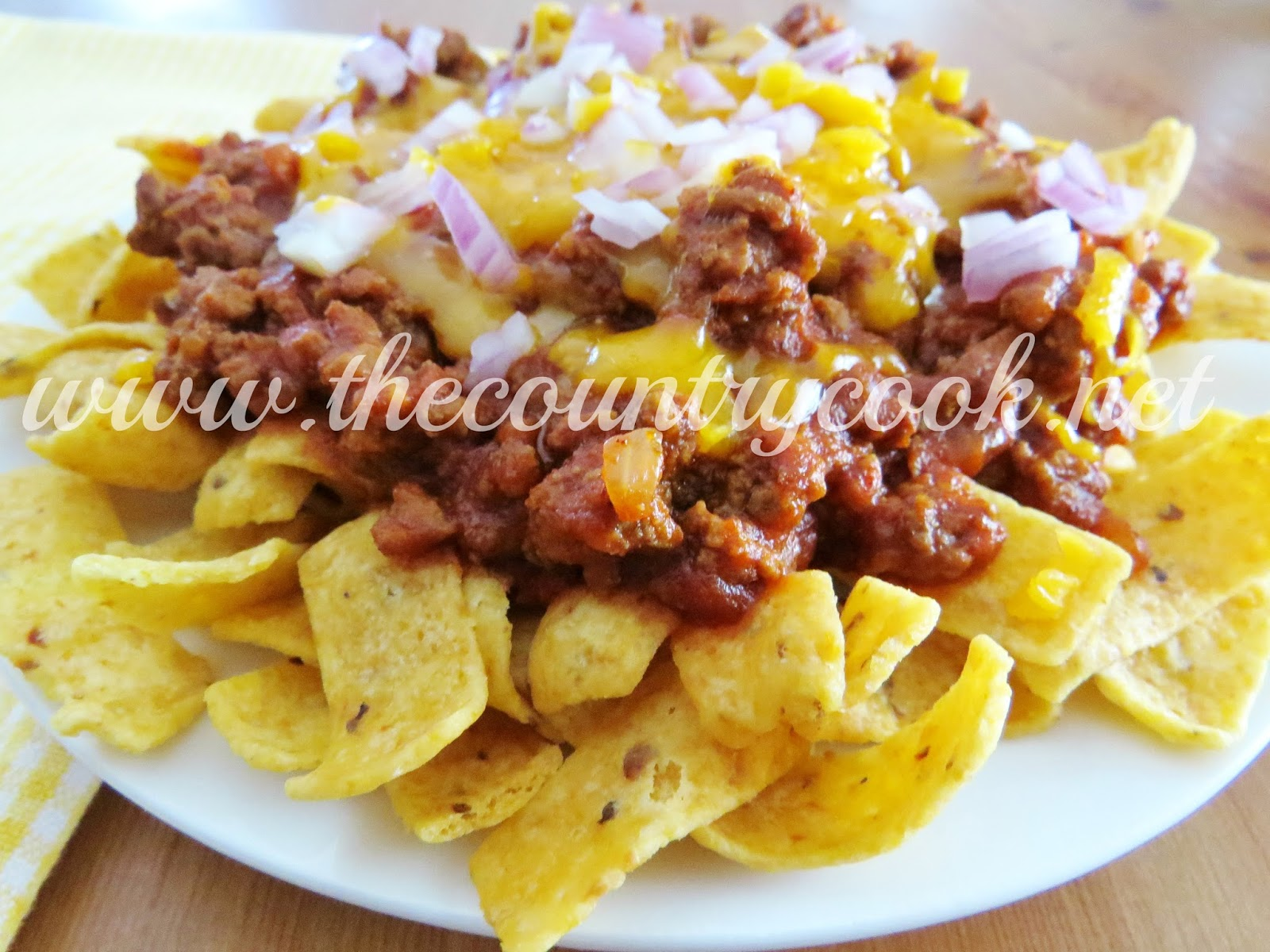 Frito Chili Pie - The Country Cook