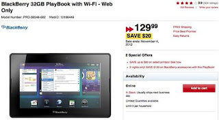 Blackberry PlayBook, RIM