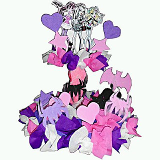 Monster High Decoration, Centerpieces for children parties