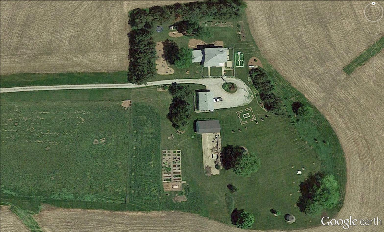 Garden Fancy A New Google Earth Aerial Photo