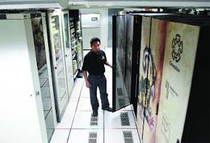 Presenta el IPN la computadora más grande de México.