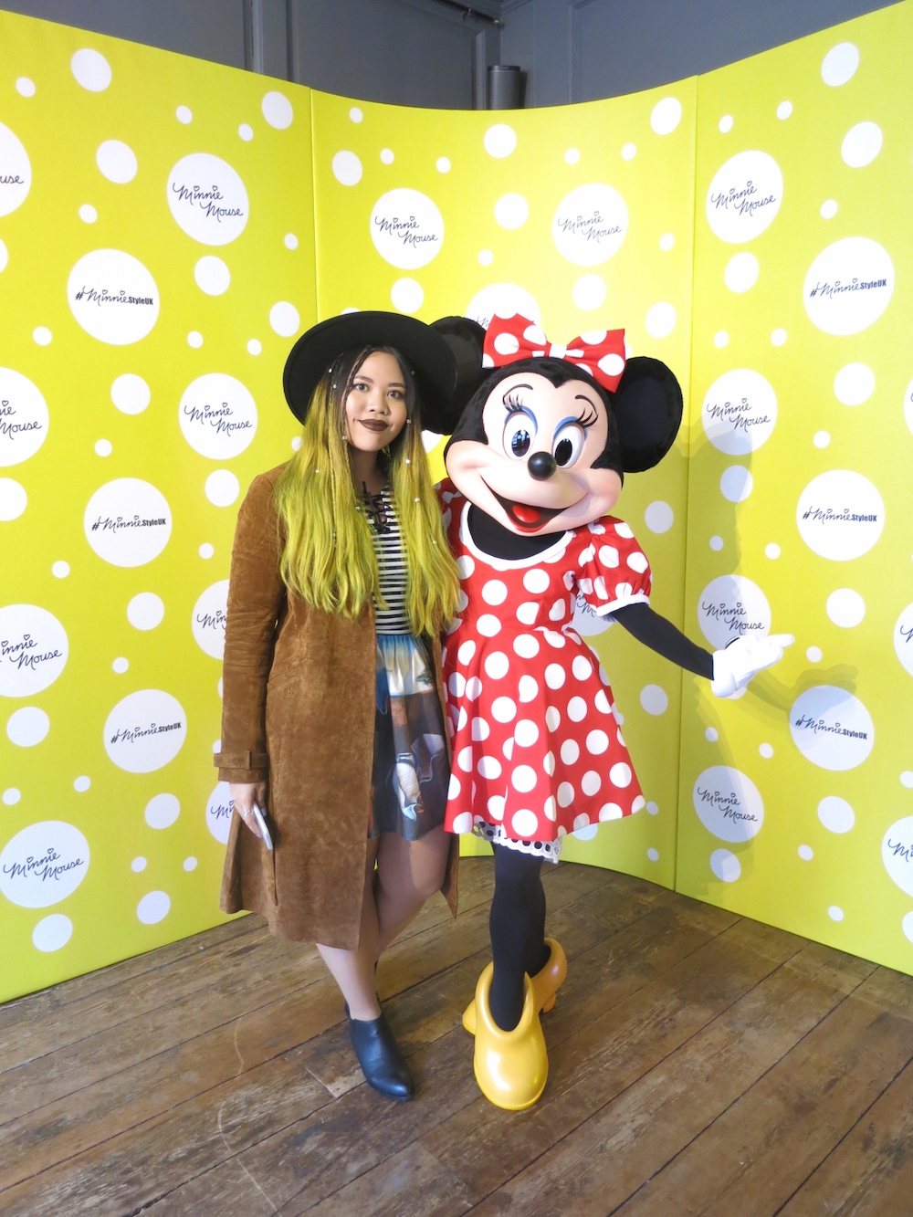 Mouse minnie celebrated lfw images