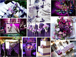 My dreamy day part II: My Wedding theme (Dark purple)